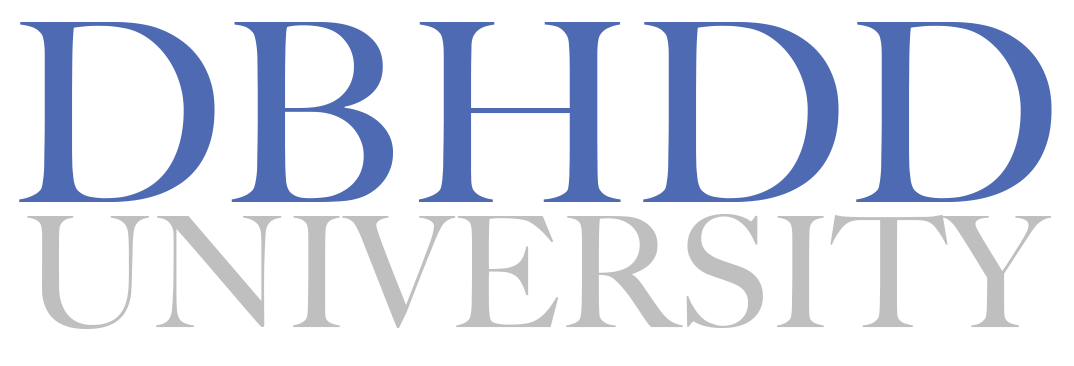 dbhdd university Learning